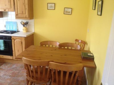 The Kitchen in Tievebulliagh Cottage