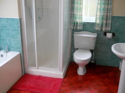 The Bathroom in Tiveragh Cottage