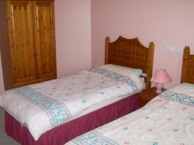 The Twin Bedroom in Tievebulliagh Cottage