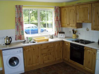 The Kitchen in Trostan Cottage